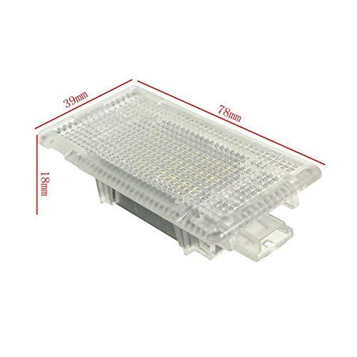 GOFORJUMP 24 LED lumière intérieure Footwell Bagages Coffre Coffre à Bottes démarrage Lampe Blanche pour B/MW E90 E92 E66 E61 E39 E60 E38