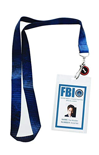 Se7en20 The X-Files Fox Mulder ID Lanyard with Charm