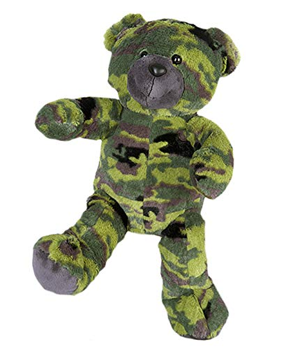 Stuffems Toy Shop 16' Recordable Camouflage Military Bear w/ 10 Second Recorder ?
