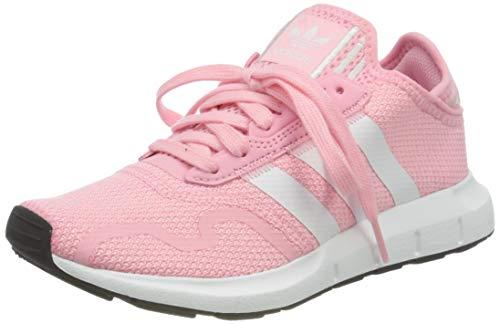 adidas Swift Run X Sneaker, Light Pink/Cloud White/Core Black, 40 EU