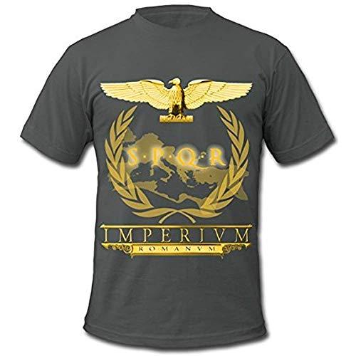 Camiseta para hombre Roman Aquila SPQR de American Apparel PC. XL
