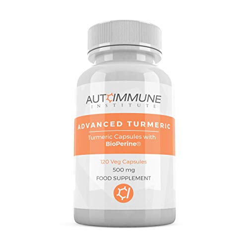 Advanced Turmeric. High Strength Turmeric Capsules Supplement with Black Pepper Extract (Bioperine) for 20 Times Improved Absorption. Made in UK. High Levels Curcumin. 120 Veg Capsules.