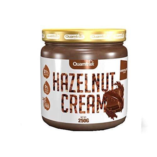 Quamtrax Gourmet Hazelnut Cream - 250 gr Avellana Chocolate