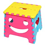 U-company ファニーフェイス ステップスツール ピンク コンパクトに持ち運び・収納が可能