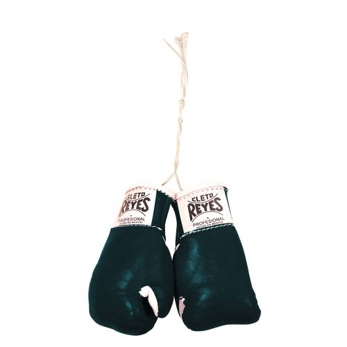 Ringside Cleto Reyes Mini-Boxhandschuhe, Unisex-Erwachsene, schwarz, 2.75
