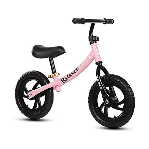 ELXSZJ XTZJ Bicicleta de Equilibrio - Bicicleta de Entrenamiento para niños pequeños Durante 18 Meses, 2, 3, 4 y 5 años de Edad, niños, Bicicletas para niños pequeños, sin Pedal, Bicicleta.