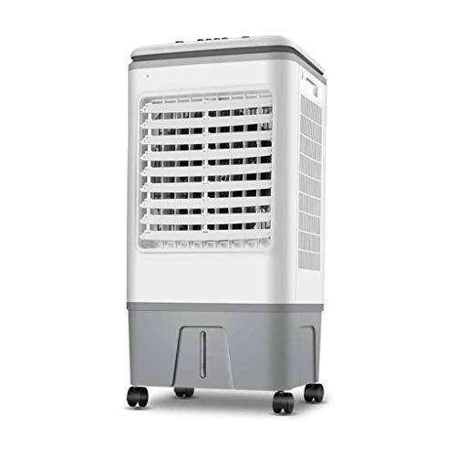 Verdunstungskühler, Lüfter, mit 17-Liter-Wassertank, 8-Stunden-Timer-Funktion, 3-Block-Windgeschwindigkeitseinstellung, mit Fernbedienung, Energieeinsparung, B.