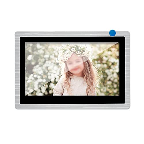 SMLJLQ 10 Inch WiFi Video Intercom Wireless Indoor Monitor for Video Door Phone with Motion Home Intercom System