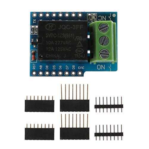 Qirun Relay Relais Shield para WeMos D1 Mini WiFi ch340 IoT Lua Compatible 397