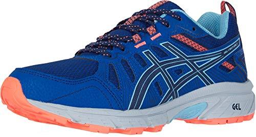 ASICS Women's Gel-Venture 7 Running Shoes, 10.5M, Blue Expanse/Heritage Blue