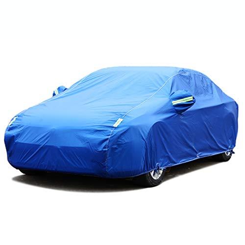 Compatible con el nuevo BMW Serie 8 Gran Coupé 2020 Cubiertas exteriores completas Impermeables para todo tipo de clima, Cubierta para automóviles Impermeable Tiras reflectantes a prueba de viento