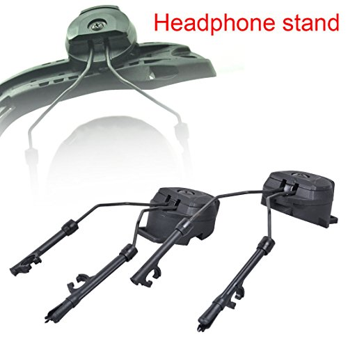 Generic Peltor Comtac I/II ARC Adapter/Tactical Helmet Rail Suspension Headset Support