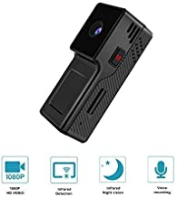 GXSLKWL Mini Hidden Spy Camera with1080P Night Vision, Portable Small HD Nanny Cam with Motion Detection, Indoor Covert Se...