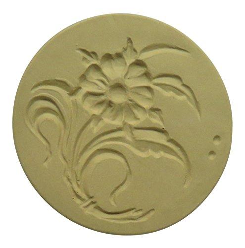 Brown Bag Woodland Flower Cookie Stamp - Art Nouveau Flower Series