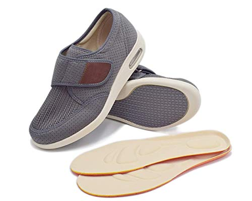 N\A RYLHL Men's Stability X Strap Sneaker,Gray,10.5