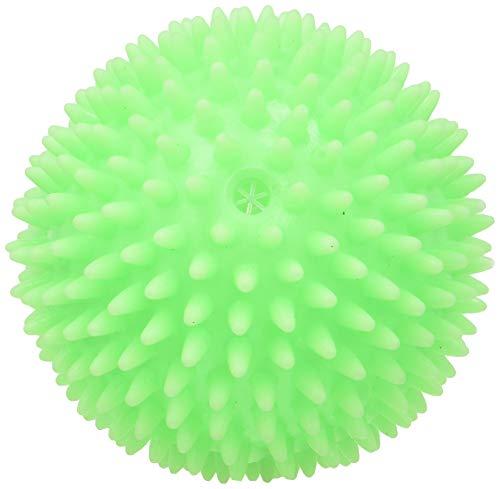 Croci Vinyl Toy Hedgehog Ball Juego para Perros en Vinilo Pelota Rizado, 8 cm