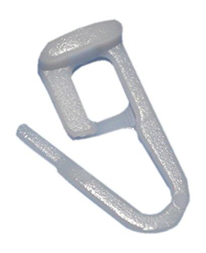 rewagi Patins Blanc de haute qualité avec tête plate 9 x 9 mm – 25, 50, 100, 200 Pièces, weiß, Lot de 50