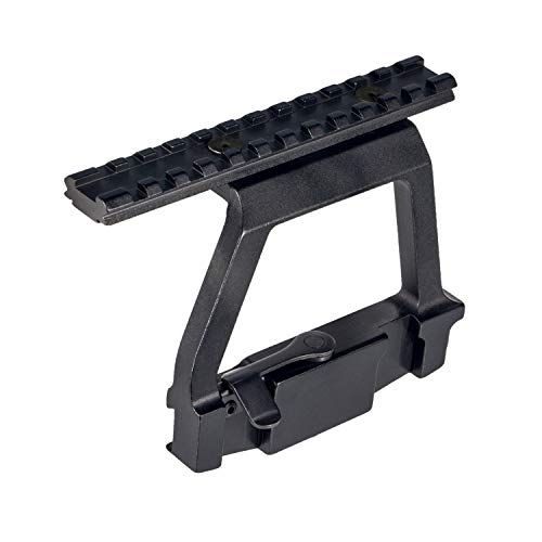 SUNSKYOO 45 Grad Winkel Zielfernrohrmontage Offset Seitenhalterung Edelstahl Jagd Werkzeuge Zubeh/ör