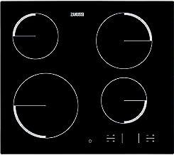 Zanussi ZEV 6340 FBA - Placa Vitrocerámica Zev6340Fba Con 4 Zonas Hi-Light