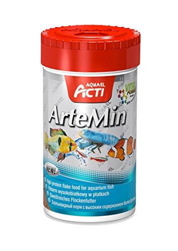 Aquael Acti ArteMin Nourriture Artemia 100 ml