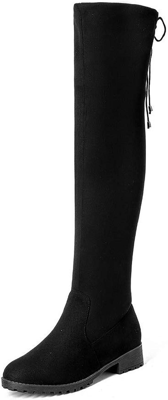 AdeeSu Womens Comfort Chukka Bucket-Style Urethane Boots SXC03555