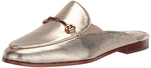 Sam Edelman womens Linnie Mule, Gold, 10.5 US