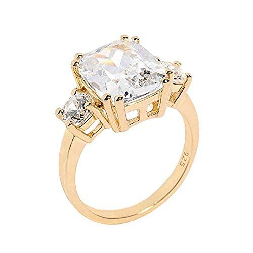 EPRHY Gold Verlobungsringe Royal Meghan Ringe inspiriert Prinzessin Schmuck für Frauen (O)