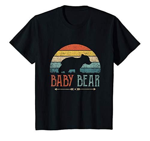 Kinder Kinder Baby Bär Witziges Geschenk Kind Junge Mädchen T-Shirt