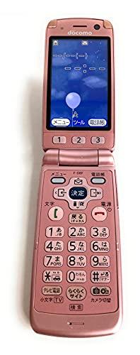 docomo F-08F [ピンク] らくらくホン8 富士通 ドコモ 白ロム 携帯電話