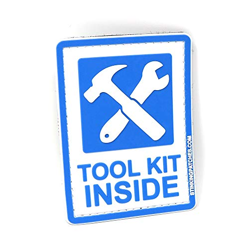 Tool Kit Inside PVC Tactical Patch | Great for Go Bags, Survival Kits, Bug Out Bags