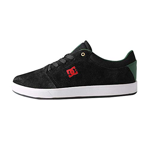 DC Shoes Tenis Urbano Crisis MX para Hombre Talla 27 Color Negro