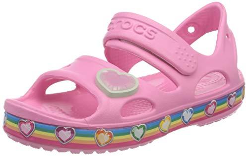 Crocs Fun Lab Rainbow Sandal, Unisex-Bambini, Pink Lemonade, 29/30 EU