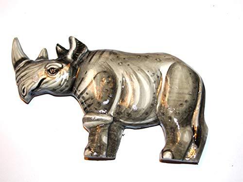 BZ-holzmagnet rhinocéros d'afrique, tiermagnete aimants pour la décoration
