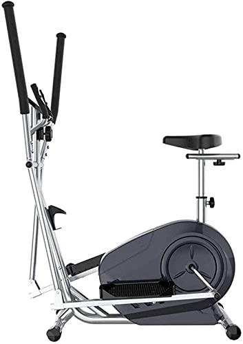 Bicicleta Elíptica Electromagnética Entrenador Elíptico Tapetes Tapetes Tapetes Tapetes Cinta de Correr Space Walker Gym Home Equipo de Fitness portátil pequeño y Ultra silencioso - con Asiento