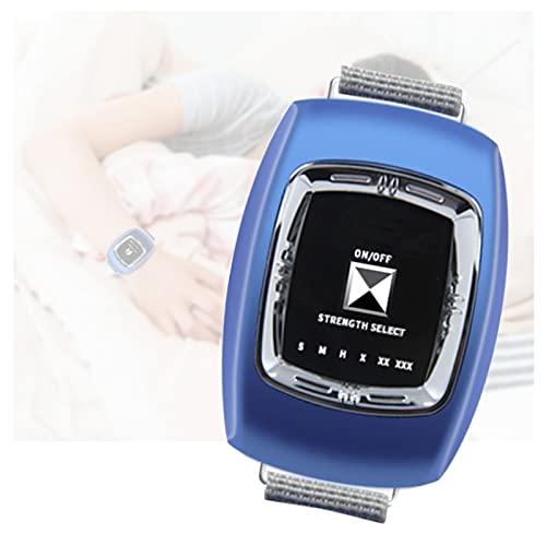 GJXJY Anti Ronquidos Pulsera USB, 2021 Dejar para Roncar Dispositivos Antirronquidos con Biosensor Reloj Antirronquidos con 3 Modos y 6 Engranaje Ajustable para Mujeres Y Hombres