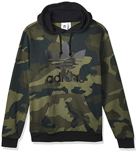 adidas Herren CAMO OTH Sweatshirt, Black/Multicolor, L