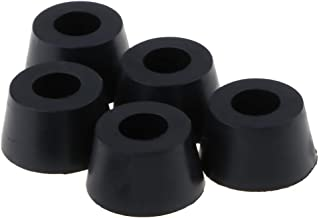 Homyl 5x Legs For Cabinets Footboards Rubber Feet Speaker Stands Furniture 2x2x1.2 Cm