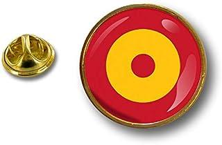 Akacha Spilla Pin pin's Spille Bandiera Badge Air Force Aeronautica Spagna
