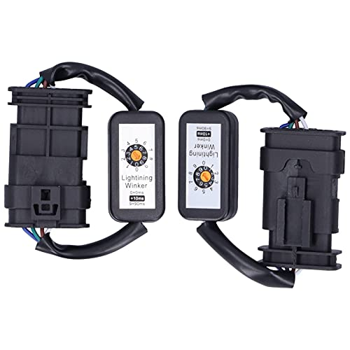 Par de luces traseras LED para coche, adaptador de señal de giro dinámico, arnés, kits de módulo intermitente, aptos para 3 Series F30 F34 M3 F80 LCI 2016-2019