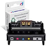 HOTCOLOR 1 Pack for 564 Printhead 5-Slot CB326-30002 CN642A Remanufactured Long-Life for 7510 7515 7520 7525 D7560 Printer