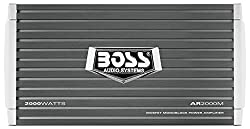 BOSS Audio Systems AR2000M Armor 2000 Watt, 2 4 Ohm Stable Class AB