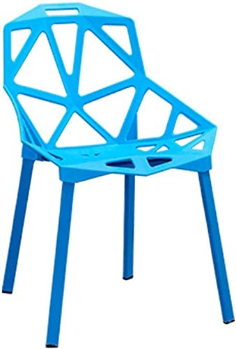 PLLP Bars, Cafes, Restaurant Chairs,Chair Bar Stool with Back Dining Chairs Breakfast Bar Stools Stool Foot Stool Footrest Bar Stools for Kitchens,Blue