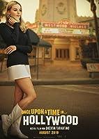 映画 ワンス・アポン・ア・タイム・イン・ハリウッド 約90cm×60cm シルク調生地のアートポスター 06 レオナルド・ディカプリオ レオナルドディカプリオ ブラッド・ピット タランティーノ ワンスアポンアタイムインハリウッド