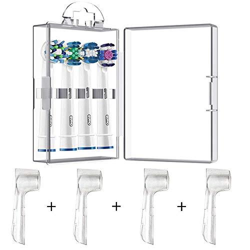 4 paquetes de funda protectora higiénica + 1 estuche de almacenamiento de...