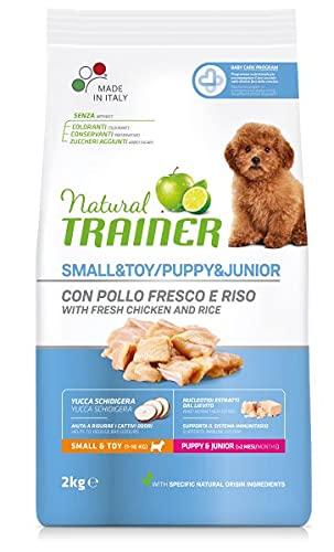 Natural Trainer Trainer Natural Small Puppy Junior kg. 2 Cibo Secco per Cani, Multicolore, Unica