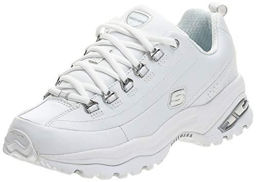 Skechers Sport Women's Premium Sneaker,White,6.5 M US