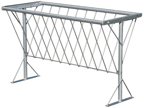 Behlen Country 76021908 Galvanized Hay Rack for 5-Feet Horse Feed Bunk