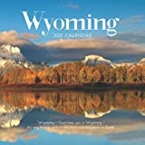 """Wyoming 2022 Calendar: From January 2022 to December 2022 - Square Mini Calendar 7x7"""" - Small Gorgeous Non-Glossy Paper"""
