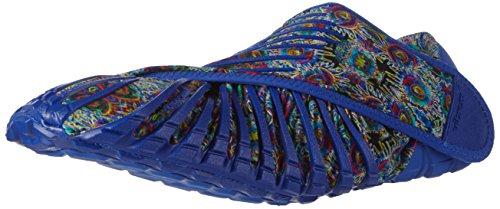Vibram FiveFingers Furoshiki Original, Unisex-Erwachsene Sneakers, Mehrfarbig (Blue flower), S (38-39)