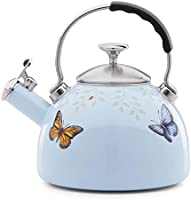 Lenox 888256 Butterfly Meadow Tea Kettle Blue, 3.05 LB